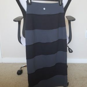 Lululemon highwaisted skirt